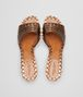 BOTTEGA VENETA RAVELLO SANDALS IN CALVADOS INTRECCIATO CALF Sandals Woman ep