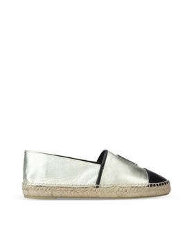 KARL LAGERFELD KARL LEATHER ESPADRILLE