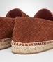 BOTTEGA VENETA GALA ESPADRILLE IN CALVADOS SUEDE, INTRECCIATO DETAILS Sneaker or Sandal Man ap