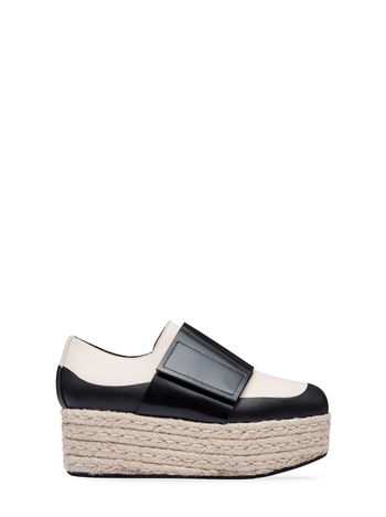 Marni Moccasin wedge in calfskin Woman
