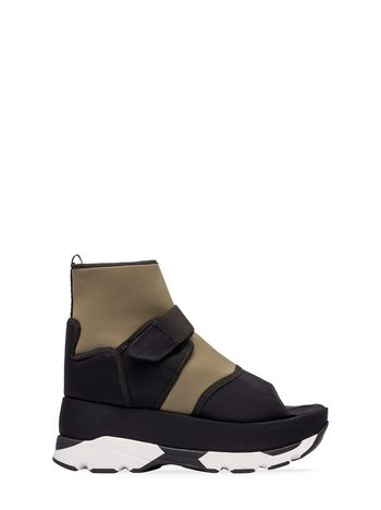 Marni Open-toed sneaker in fabric  Woman