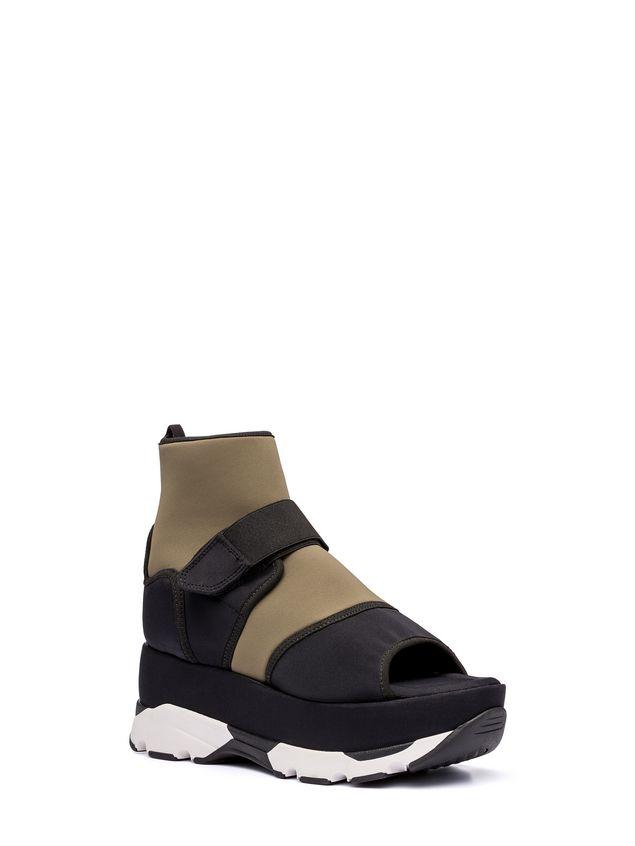 Marni Open-toed sneaker in fabric  Woman - 2