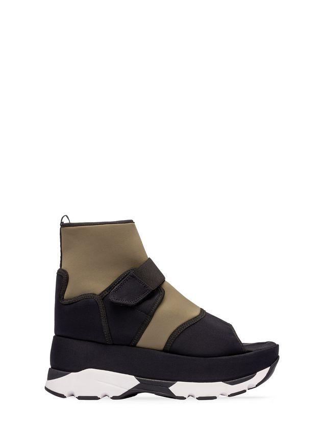 Marni Open-toed sneaker in fabric  Woman - 1