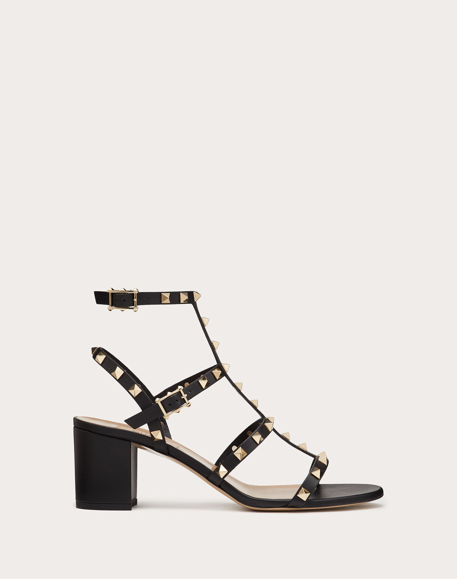 VALENTINO Contrasting applications Round toeline Buckle  11166480hw