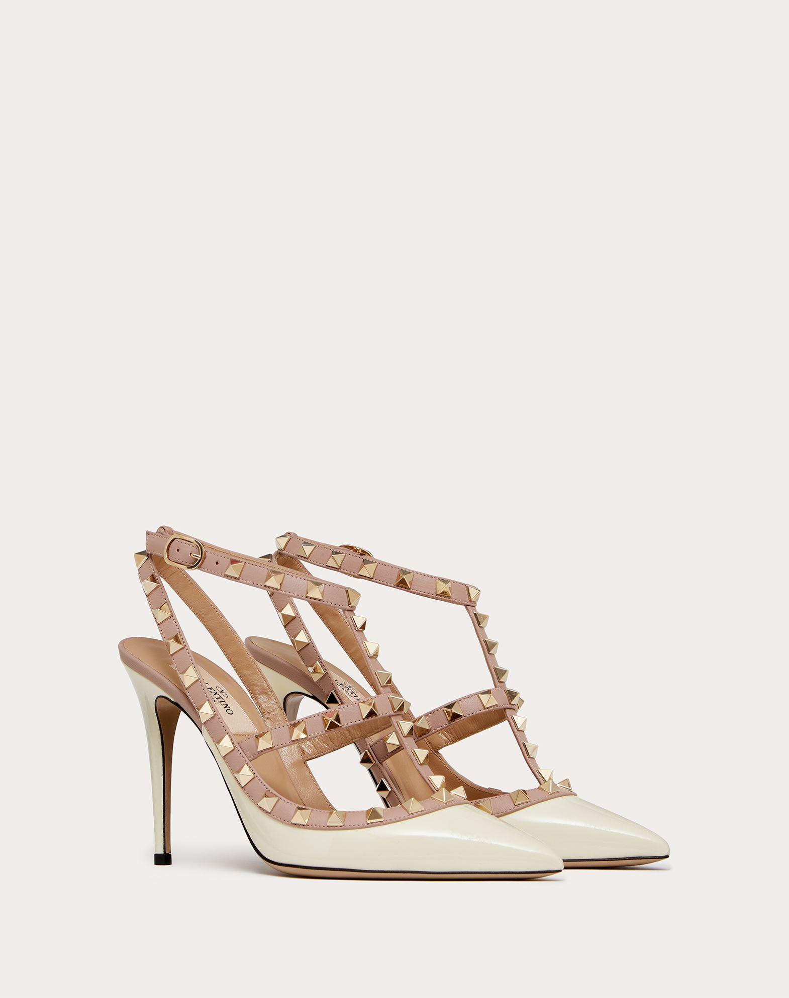 VALENTINO GARAVANI Rockstud Ankle Strap Pump HIGH HEEL PUMPS D r