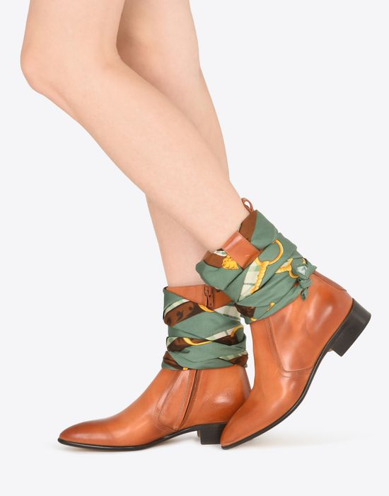 MAISON MARGIELA 22 Foulard ankle boots Ankle boots D b