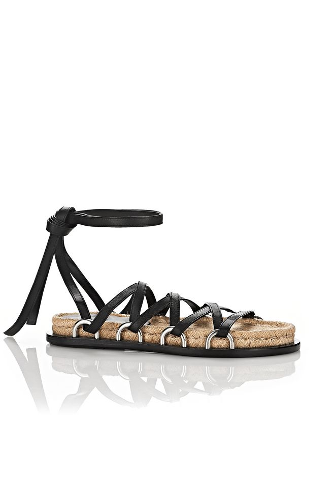 ALEXANDER WANG new-arrivals-shoes-woman ADRIANA ESPADRILLE SANDAL