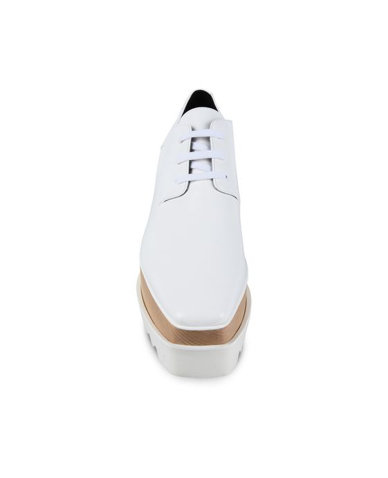 STELLA McCARTNEY White Elyse Shoes  Wedges D g