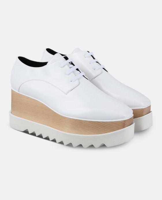 STELLA McCARTNEY White Elyse Shoes  Wedges D h
