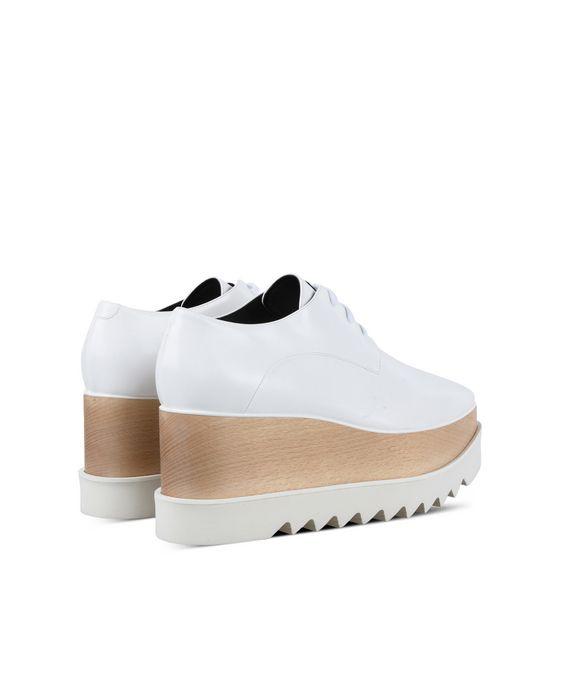 STELLA McCARTNEY White Elyse Shoes  Wedges D i