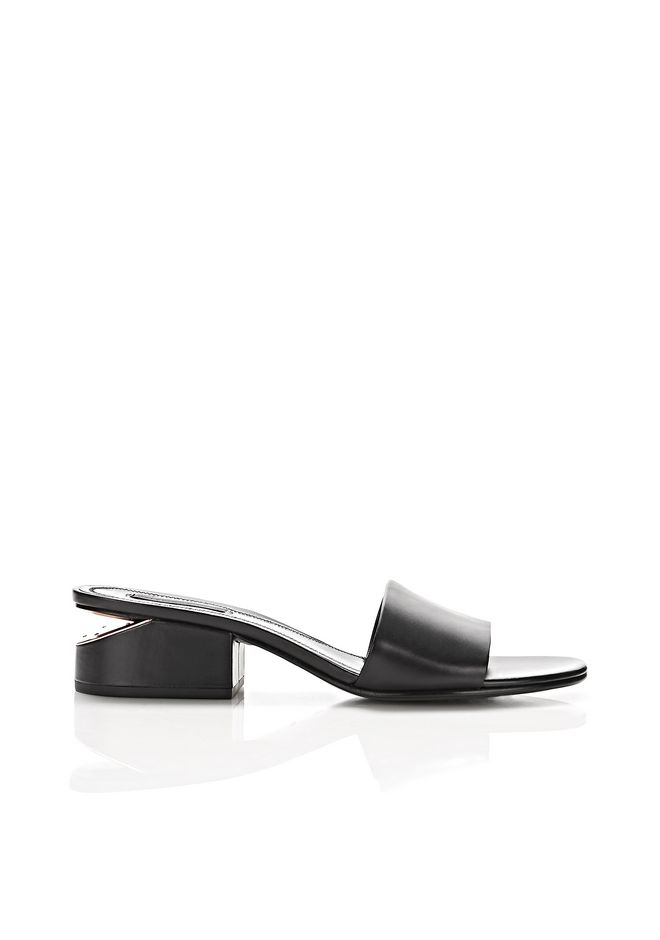 ALEXANDER WANG LOU SANDAL WITH ROSE GOLD  FLATS Adult 12_n_f