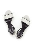 ALEXANDER WANG ABBY SANDAL WITH RHODIUM Heels Adult 8_n_e