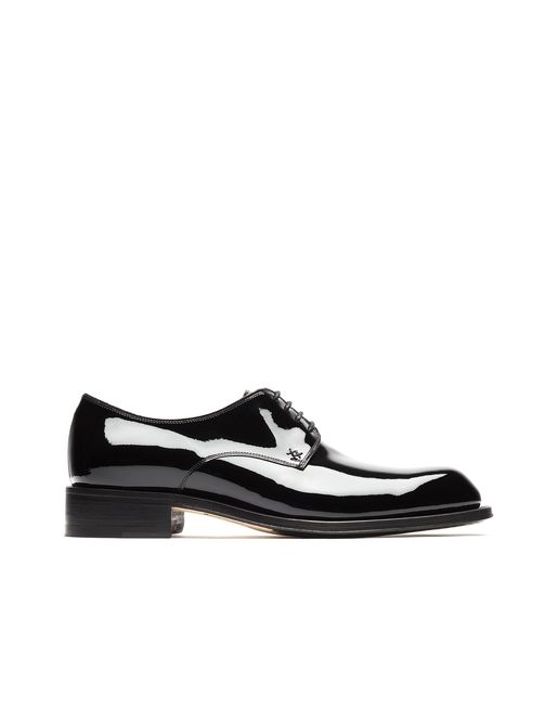BRIONI Derbies U Black Patent Leather Derby f