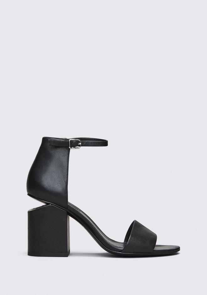 ALEXANDER WANG classics ABBY SANDAL WITH RHODIUM