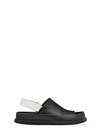 Marni Fussbett sandal with hook and loop closure Man