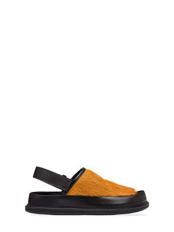 Marni Sandal in pony calfskin Man