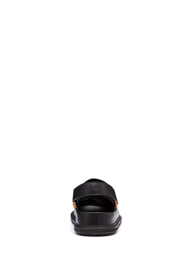 Marni Pony calfskin Fussbett sandal Man - 3