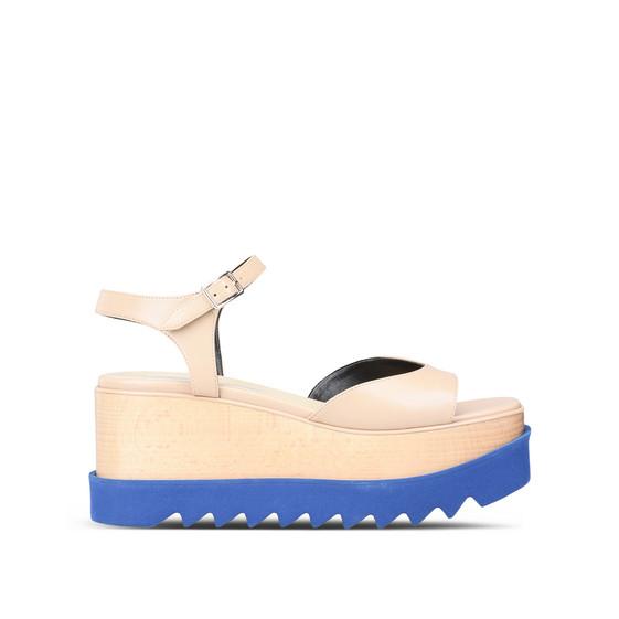 Beige Elyse Sandals
