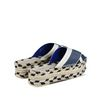 STELLA McCARTNEY Denim Raffia Espadrille Slip-ons Sandals D d