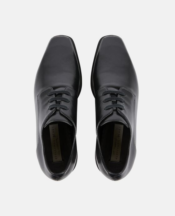 STELLA McCARTNEY Chaussures Elyse entièrement noires Semelles compensées D p