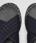BOTTEGA VENETA ESHER SANDAL IN DARK NAVY INTRECCIATO CALF Sneaker or Sandal U ap