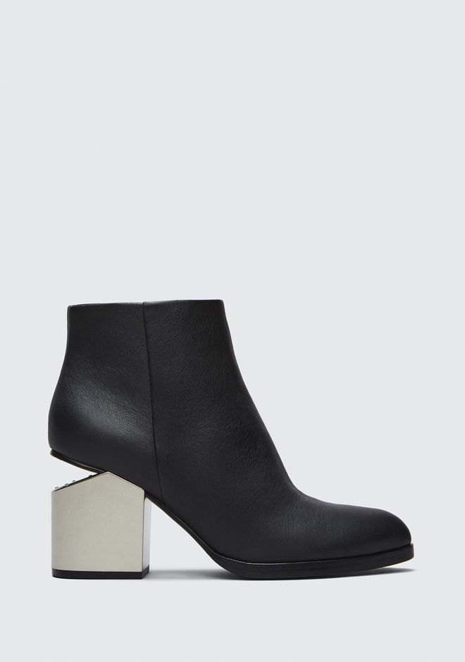 ALEXANDER WANG new-arrivals-shoes-woman GABI BOOTIE WITH SILVER METAL HEEL