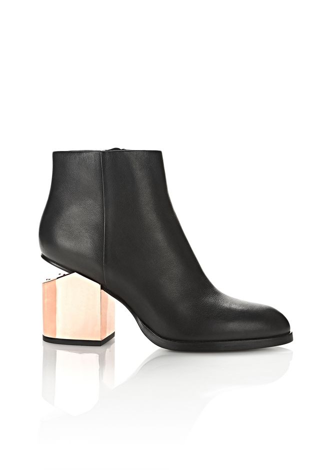 ALEXANDER WANG Boots GABI BOOTIE WITH ROSE GOLD METAL HEEL