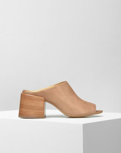 MM6 by MAISON MARGIELA Sandals D Sheepskin mules f