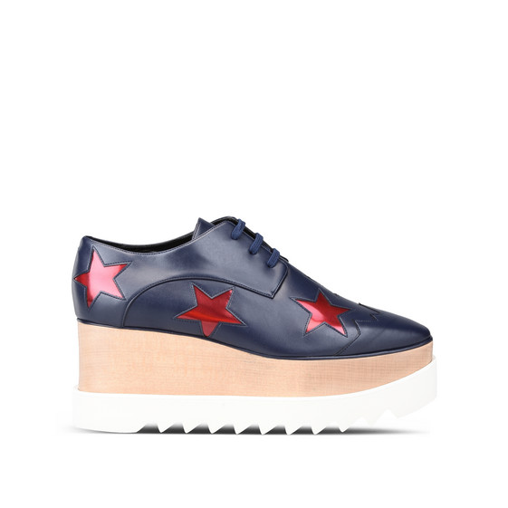 Navy Elyse Ruby Star Shoes