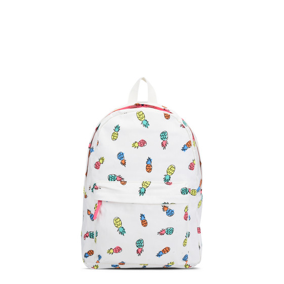 Pineapple Print Backpack