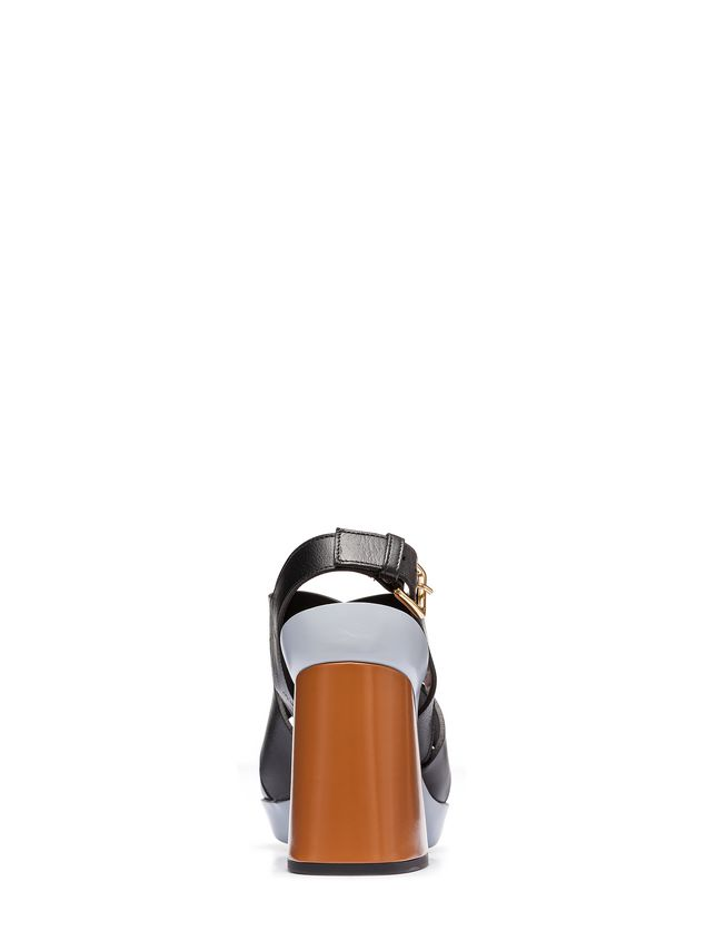 Marni Sling-back sandal in calfskin Woman