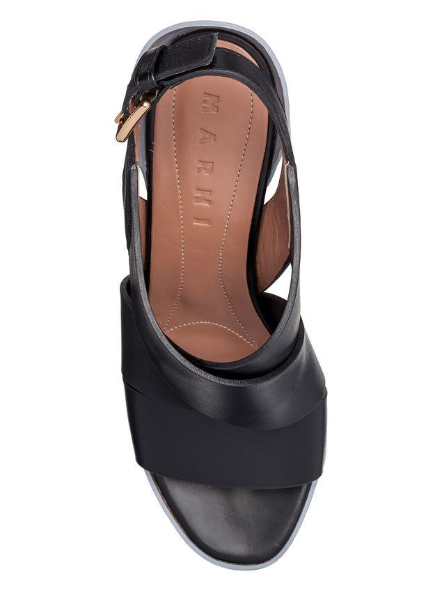 Marni Sling-back sandal in calfskin Woman - 4