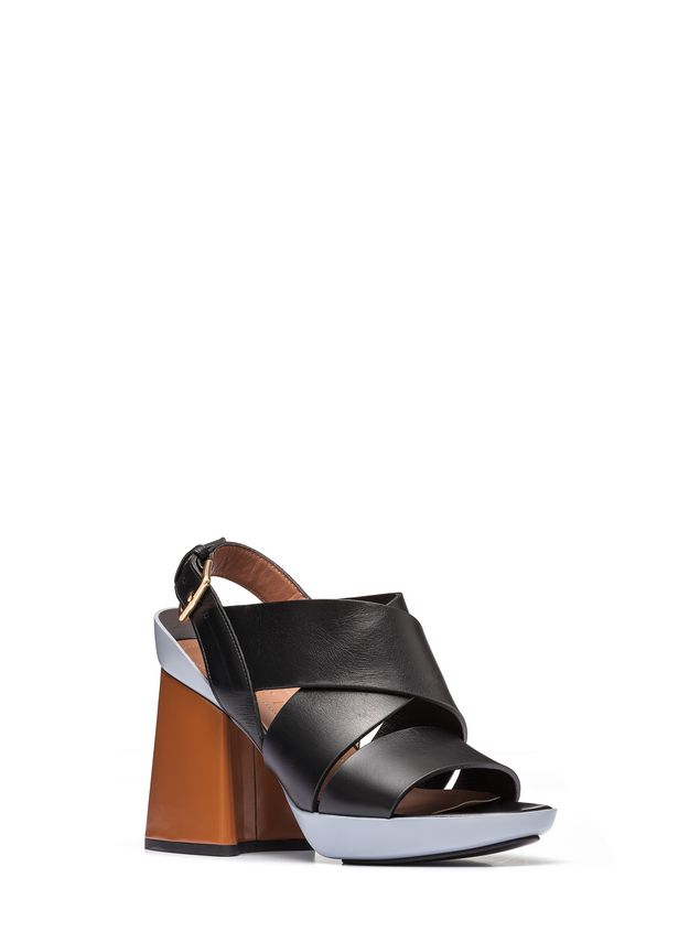 Marni Sling-back sandal in calfskin Woman - 2
