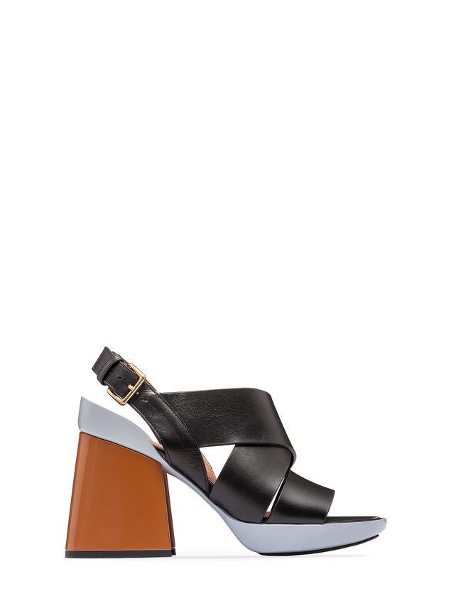 Marni Sling-back sandal in calfskin Woman - 1