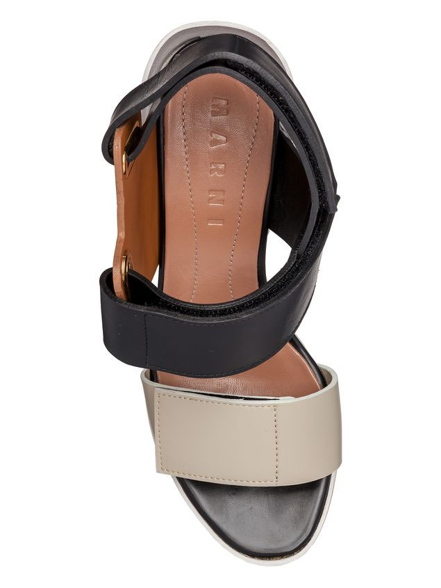 Marni Opanka sandal in calfskin Woman - 4