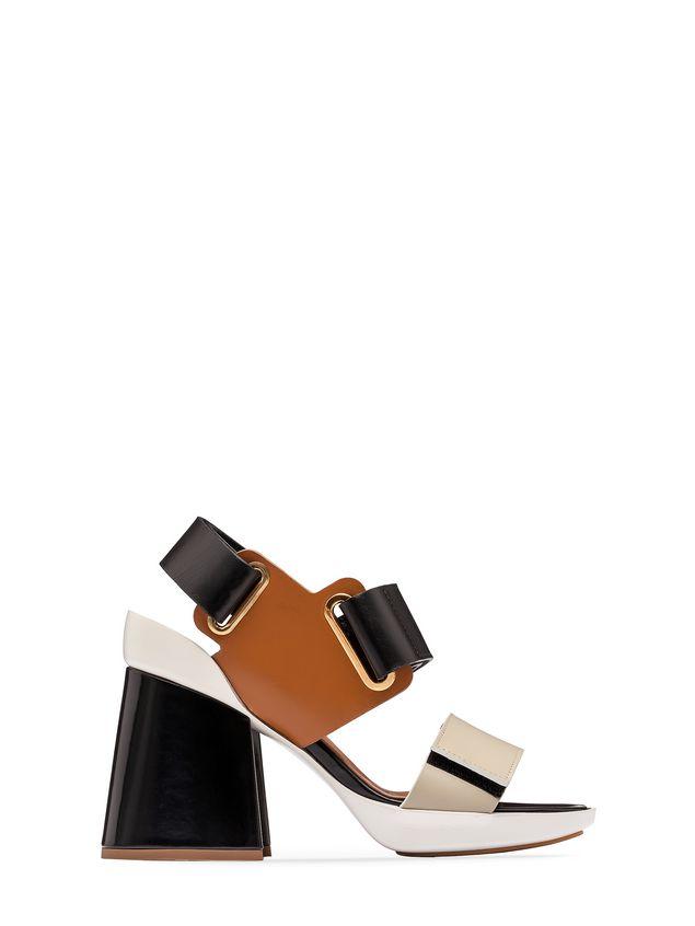 Marni Opanka sandal in calfskin Woman - 1