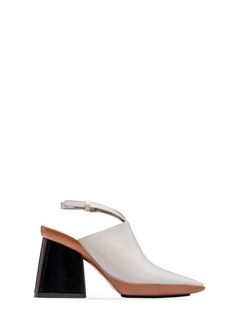Marni Runway mule in calfskin Woman
