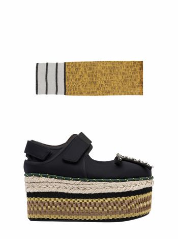 Marni Marni Loony Wedges with complimentary socks Woman