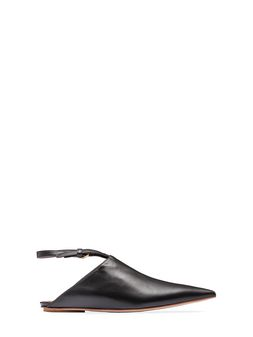 Marni Ankle-strap sabot in nappa Woman