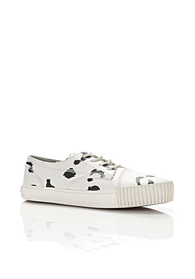 ALEXANDER WANG Sneakers Men  PERRY LOW LEOPARD SNEAKERS