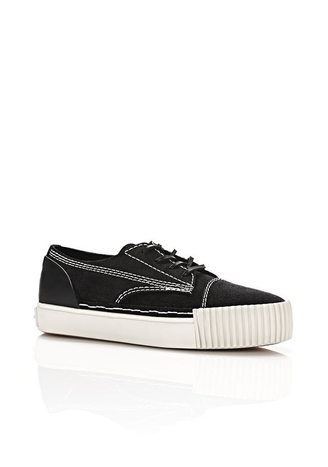 ALEXANDER WANG Sneakers PERRY LOW SUEDE SNEAKERS