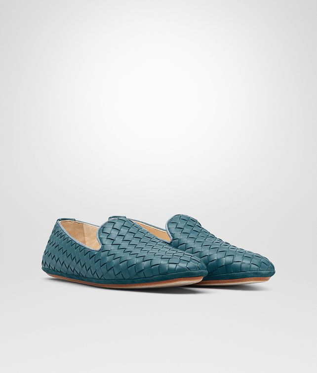 BOTTEGA VENETA FIANDRA SLIPPER IN BRIGHTON INTRECCIATO NAPPA Flat D fp