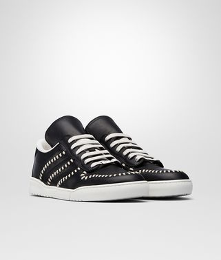 SNEAKER HEEZE IN VITELLO NERO