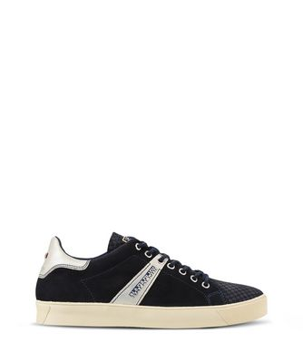 NAPAPIJRI MINNA SUEDE WOMAN SNEAKERS,DARK BLUE