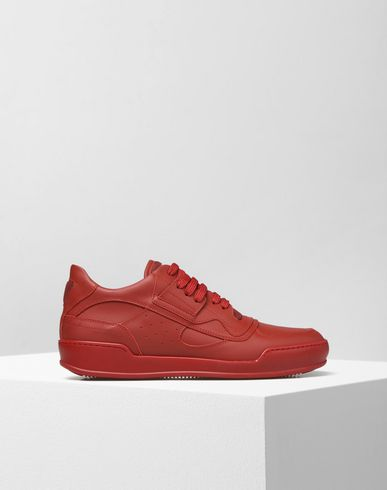 MM6 by MAISON MARGIELA Sneakers D Calfskin leather sneakers f