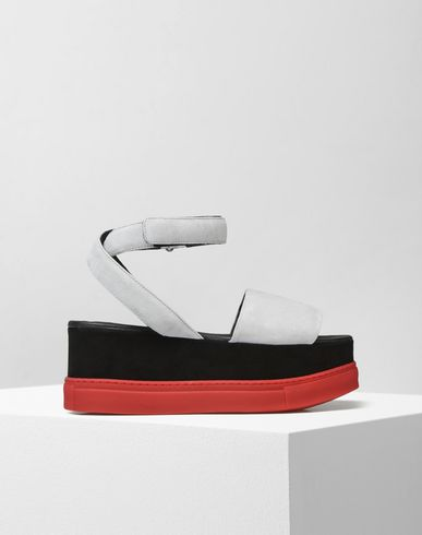 MM6 by MAISON MARGIELA Sandals D Platform wedge sandals f
