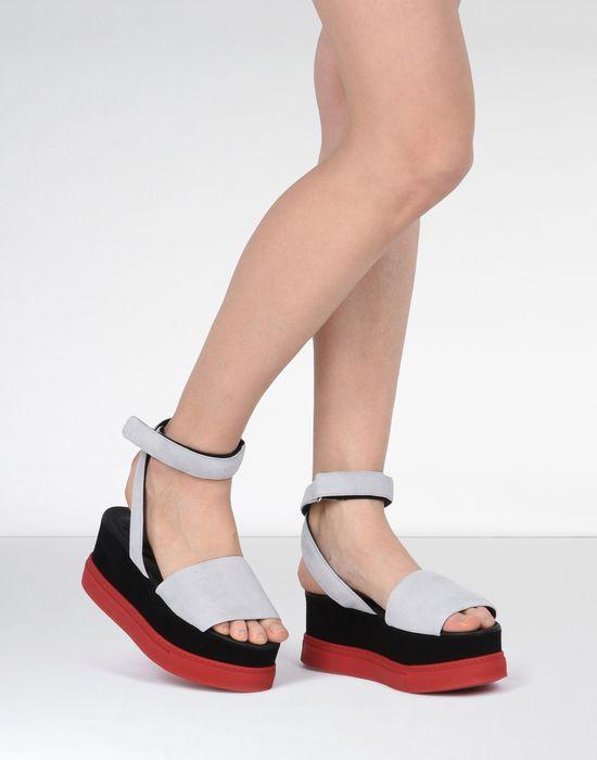 4ae83877892 MM6 MAISON MARGIELA Platform wedge sandals Sandals       pickupInStoreShipping info