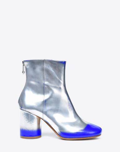 MAISON MARGIELA 22 Ankle boots D Brushed metallic ankle boots f