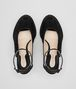 BOTTEGA VENETA WEDGE IN NERO INTRECCIATO SUEDE Sandals Woman ep
