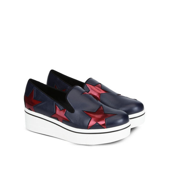 Navy Binx Ruby Star Loafers